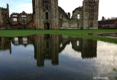 Cowdray ruins - West Sussex