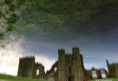 Reflection of Cowdray ruins - West Sussex